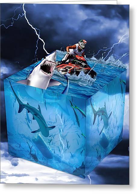 Shark Tank Greeting Card