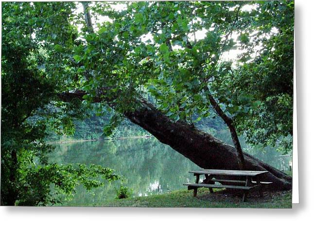 Shenandoah Picnic Greeting Card