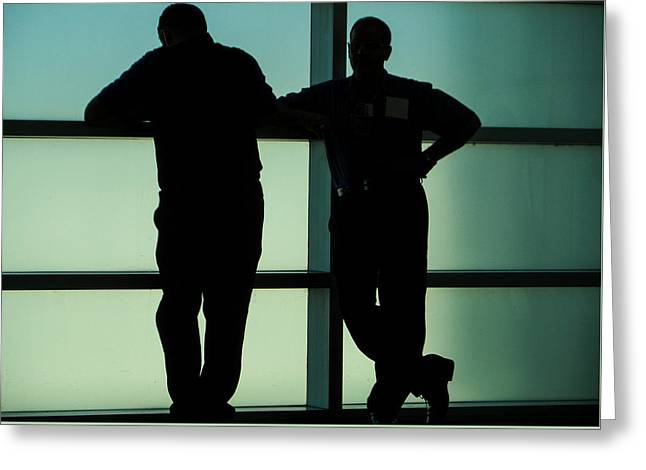Silhouettes Greeting Card by Pepsi Freund