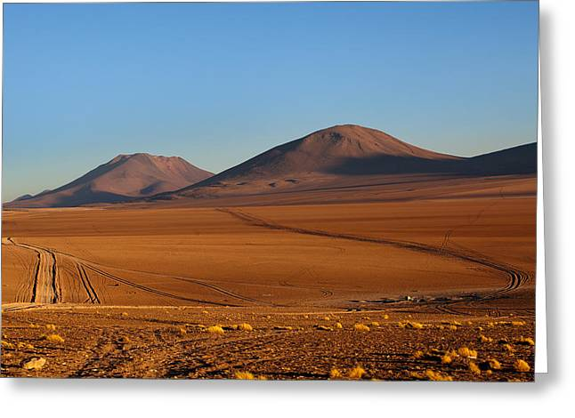 Siloli Desert Greeting Card