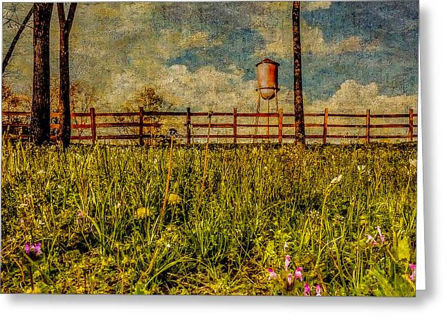 Siluria Cotton Mill Greeting Card by Phillip Burrow
