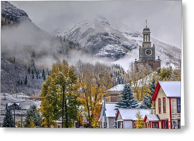 Silverton Colorado Greeting Card