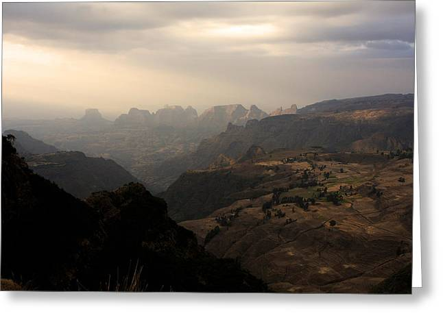 Simien Mountains National Park Greeting Card
