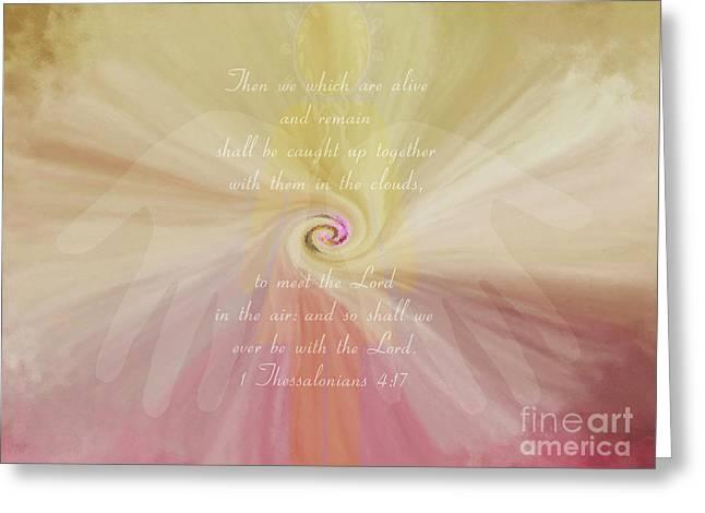 Siphon - Verse Greeting Card by Anita Faye