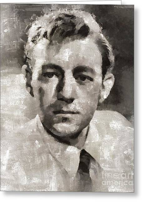 Sir Alec Guiness, Actor Greeting Card
