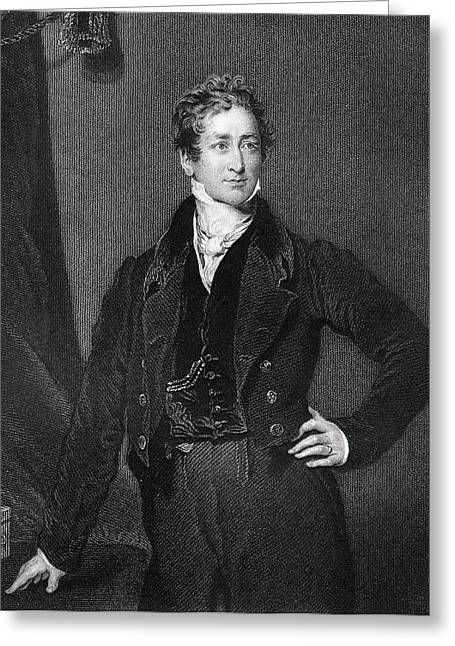 Sir Robert Peel 2nd Baronet 1788 To Greeting Card by Vintage Design Pics