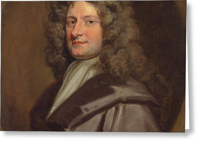 Sir Theodore Colladon Greeting Card by Godfrey Kneller