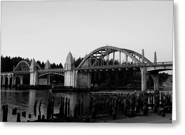 Siuslaw Bridge Greeting Card
