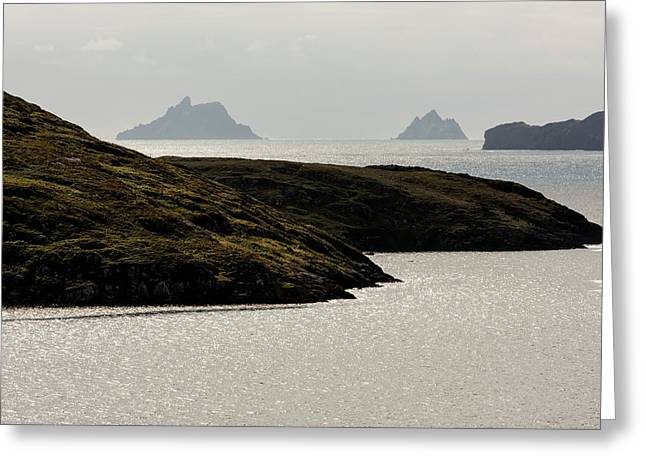 Skellig Islands, County Kerry, Ireland Greeting Card