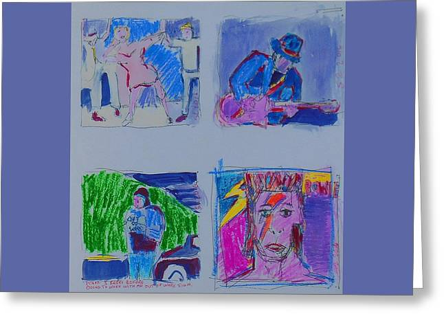 Sketchbook Greeting Card by Samuel Zylstra