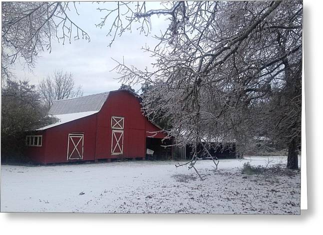 Skip Kelly's Barn Greeting Card