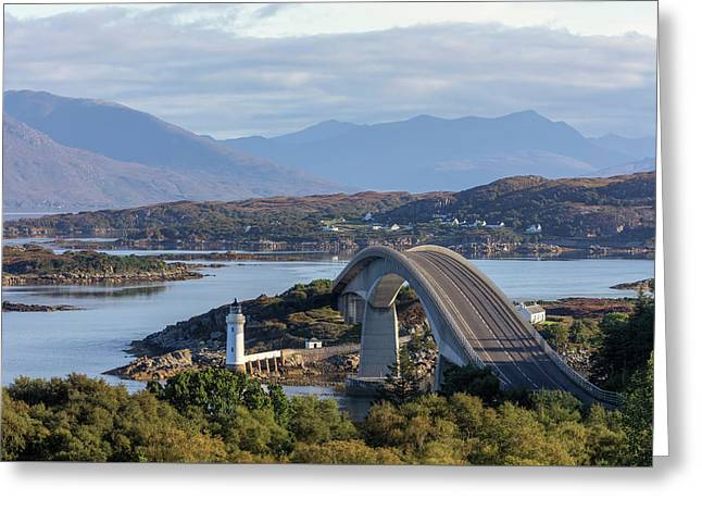 Skye Bridge - Scotland Greeting Card
