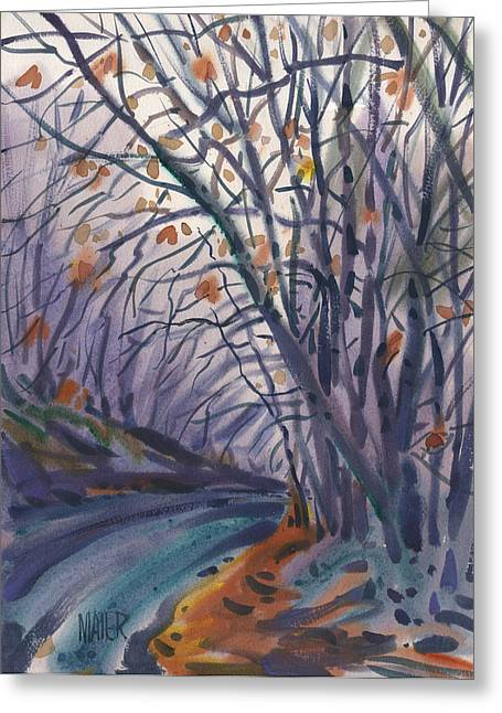 Skyline Drive Greeting Card by Donald Maier