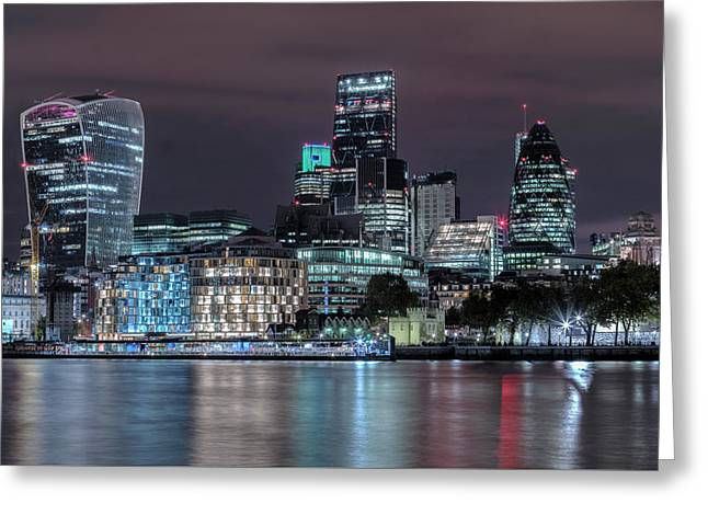 Skyline Of London Greeting Card