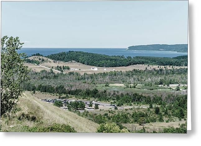 Greeting Card featuring the photograph Sleeping Bear Dunes National Lakeshore by Alexey Stiop