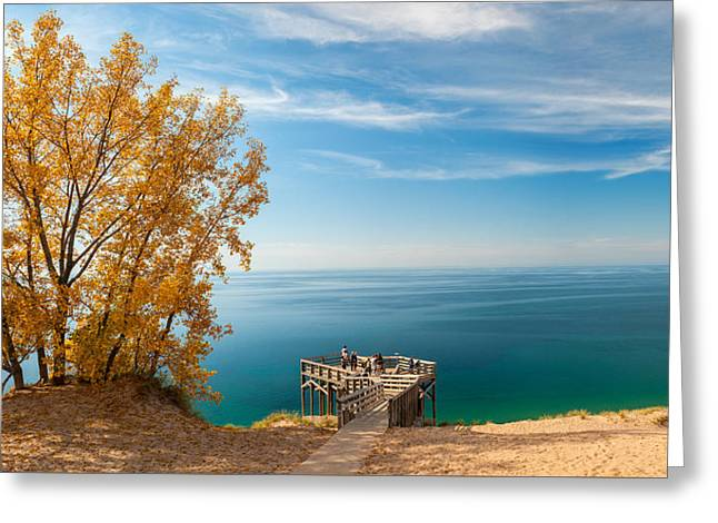 Sleeping Bear Overlook Greeting Card