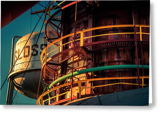 Sloss Furnaces Greeting Card by Phillip Burrow