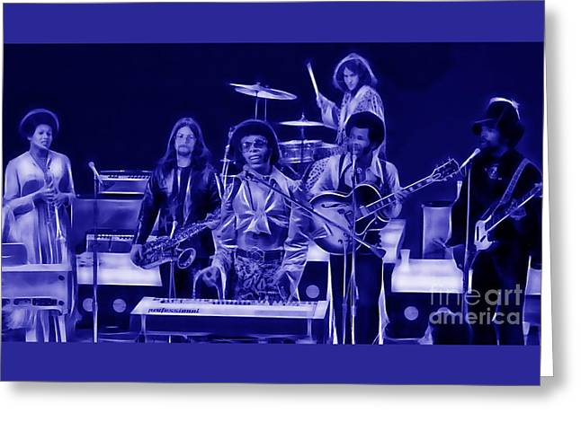 Sly And The Family Stone Collection Greeting Card by Marvin Blaine