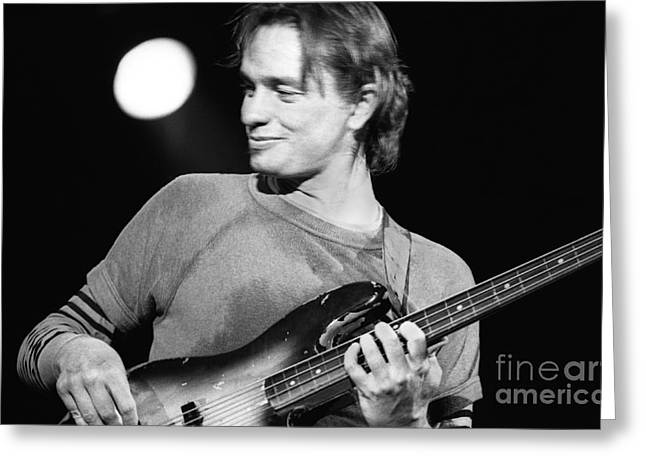 Smiling Pastorius Greeting Card by Philippe Taka