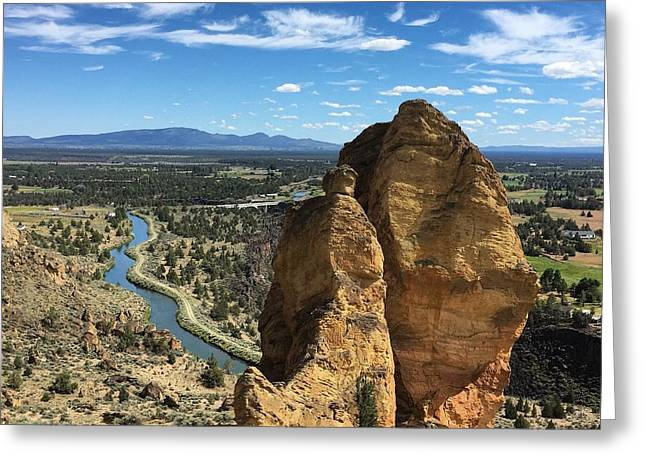 Smith Rocks Greeting Card