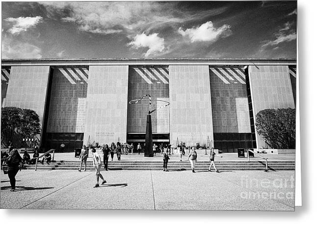 smithsonian national museum of american history building Washington DC USA Greeting Card