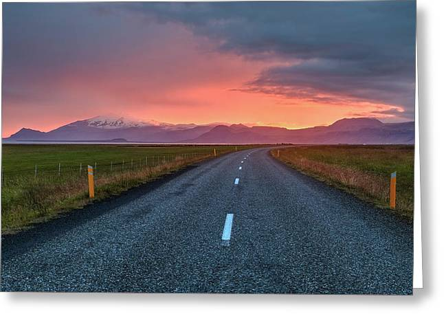 Snaefellsnes Peninsula - Iceland Greeting Card by Joana Kruse