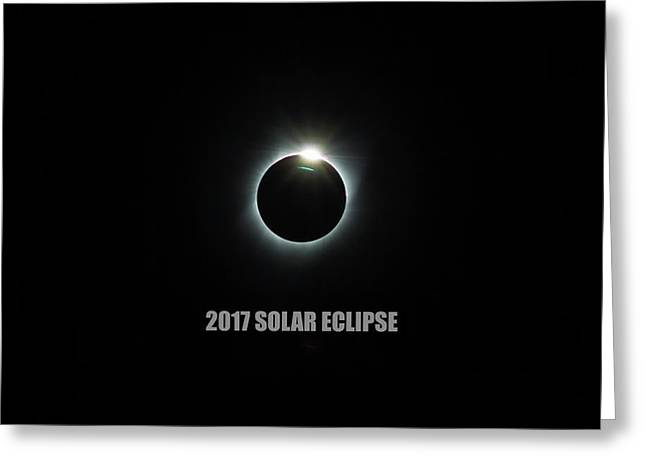 Solar Eclipse 2017 Greeting Card