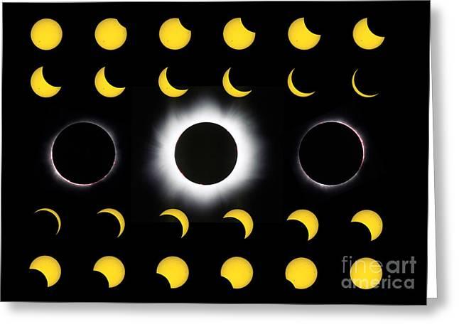 Solar Eclipse Greeting Card