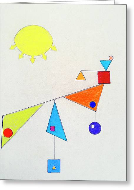 Something New Under The Sun Greeting Card