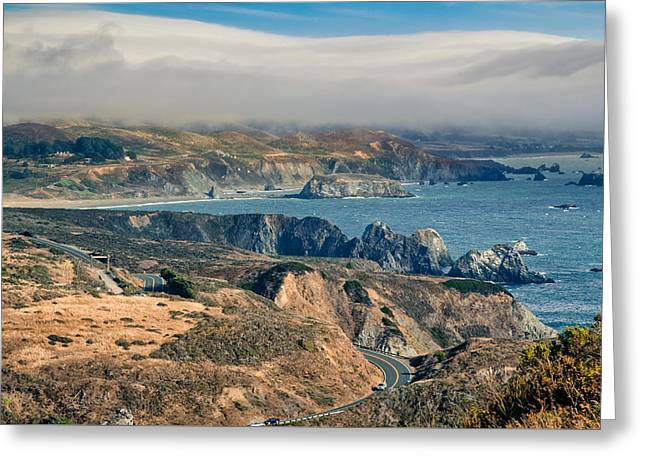 Greeting Card featuring the photograph Sonoma Coast by Kim Wilson
