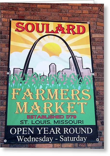 Soulard Farmers Market Greeting Card