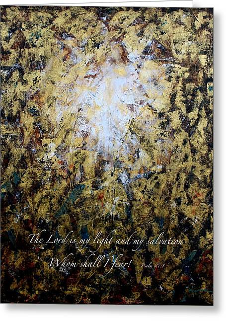 Source Of Light 2 Greeting Card by Kume Bryant