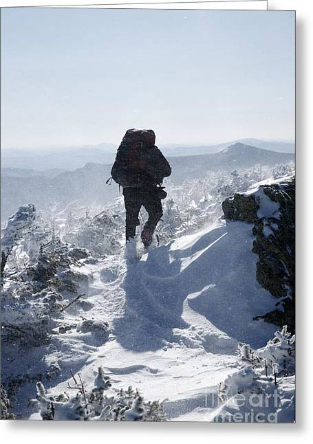 South Twin Mountain - White Mountains New Hampshire Greeting Card by Erin Paul Donovan