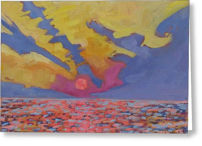 Southampton Morpeth Sunset Greeting Card