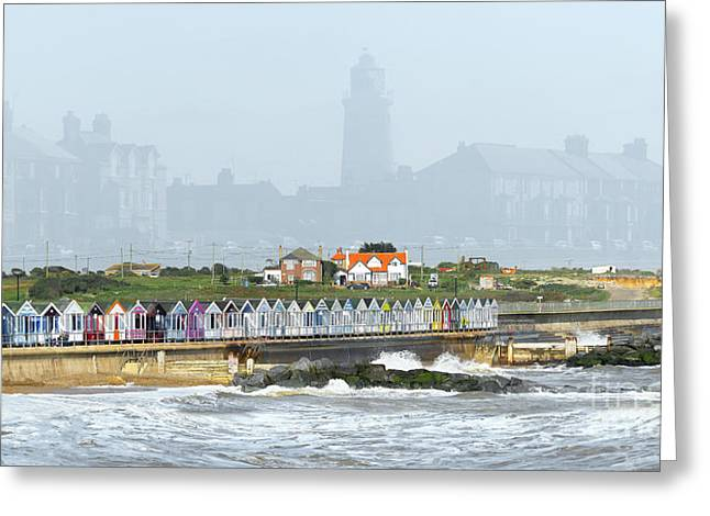 Southwold Greeting Card by Svetlana Sewell