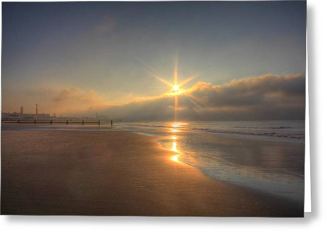 Sparkling Sunrise Greeting Card