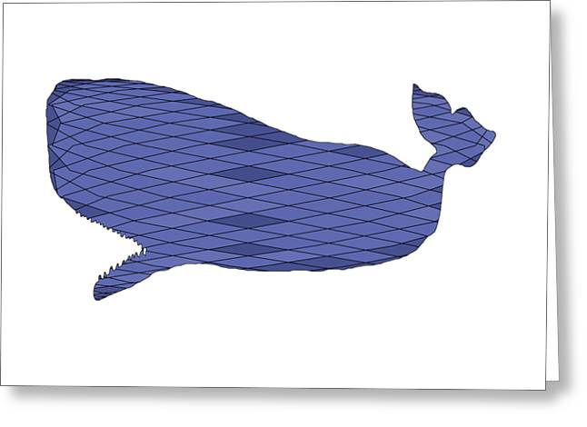 Sperm Whale Greeting Card