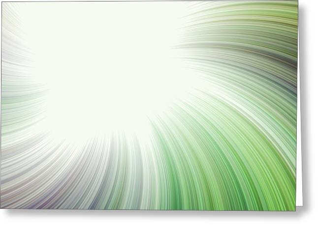 Spiral Greeting Card by Michal Boubin