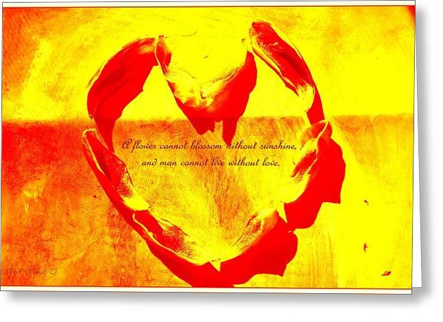 Sunshine Love Greeting Card