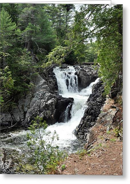 Split Rock Falls. Greeting Card