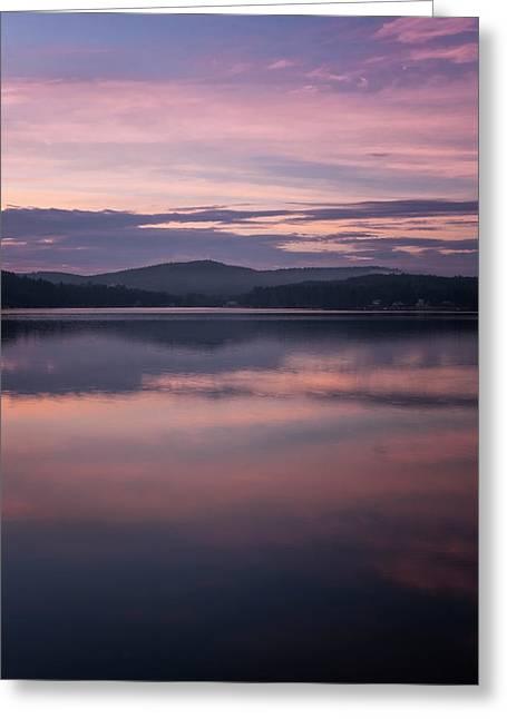 Spofford Lake Sunrise Greeting Card