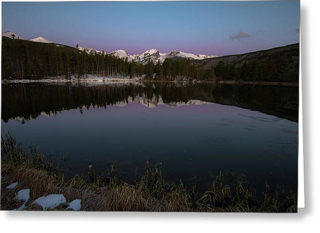 Sprague Lake Greeting Card