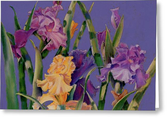 Spring Recital Greeting Card by Ann Peck