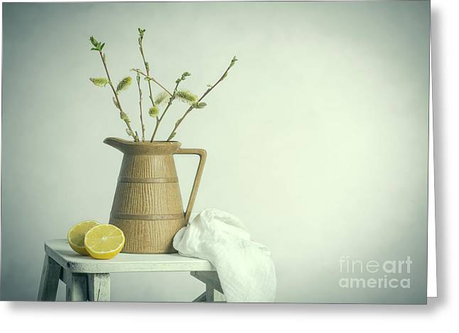 Spring Still Life Greeting Card