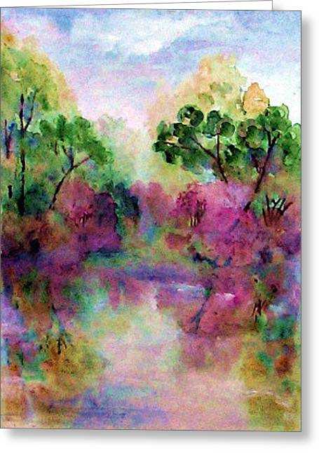 Spring Time In Alabama Greeting Card by Anne Hamilton