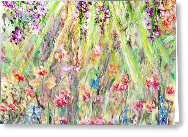 Spring Time  Greeting Card by Mary Sedici