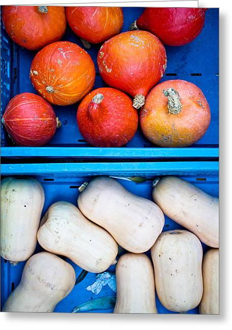 Squashes Greeting Card by Tom Gowanlock