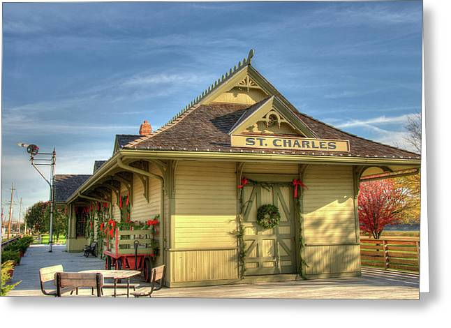 St. Charles Depot Greeting Card