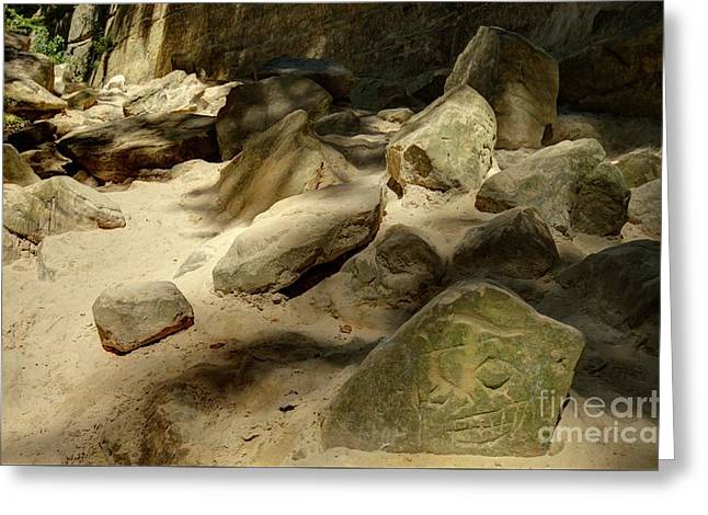 St. Louis Canyon 4 Hdr Greeting Card