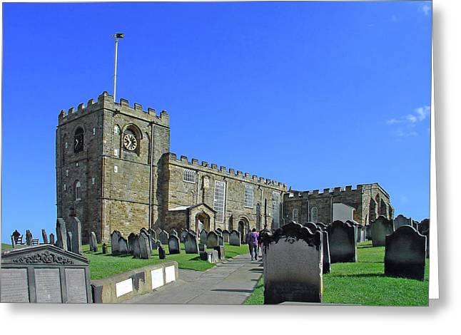 St Mary's Church - Whitby Greeting Card